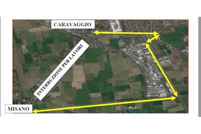 Linea bus Crema-Treviglio: deviazione per lavori a Caravaggio