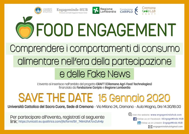 Camera di commercio: incontro gratuito, la comprensione dei comportamenti di consumo alimentare nel contesto attuale