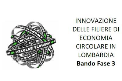 Camera di commercio: Bando Innovazione delle filiere di Economia circolare – Fase 3