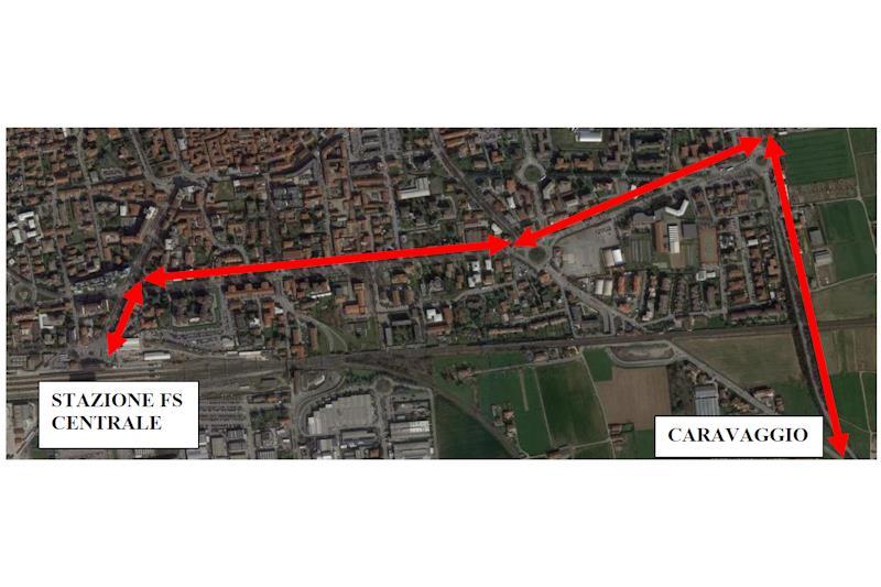 Linee k505 e k510: il giorno 29 febbraio deviazione a Treviglio