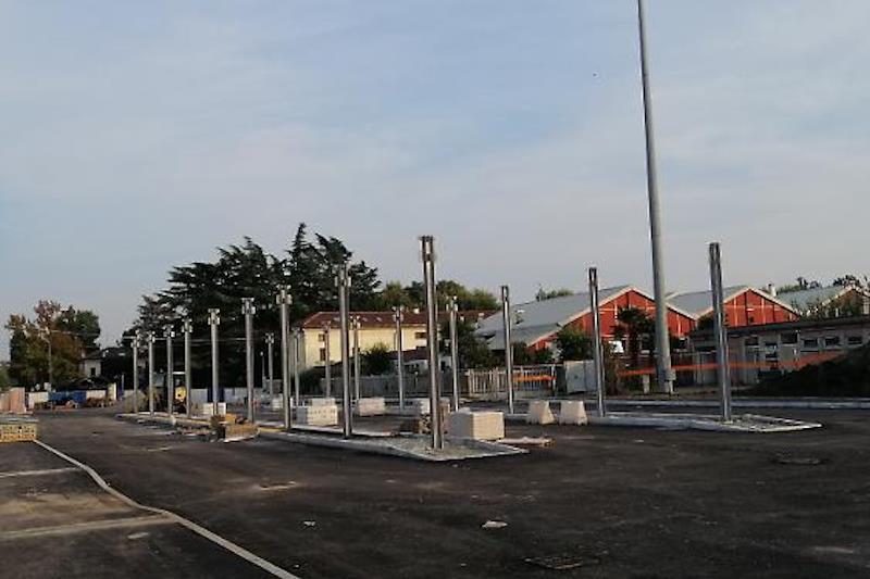 Chiusure corsie hub di via Stazione a Crema, fase 2