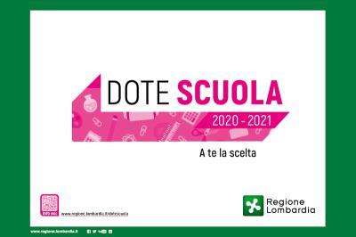 Dote scuola 2020/2021, componente materiale didattico, dal 7 aprile
