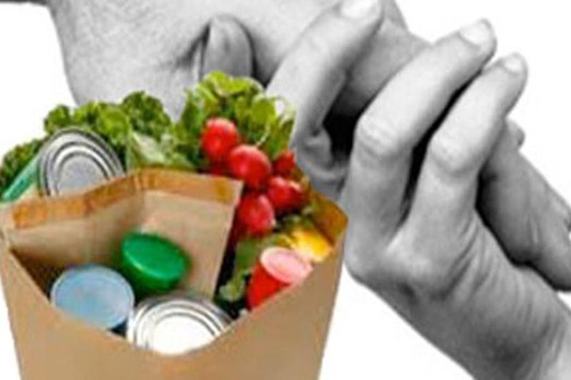 Raccolta di generi alimentari per famiglie in difficoltà