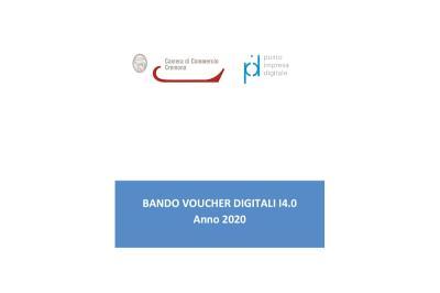 Camera di Commercio. Bando Voucher Digitali Impresa 4.0