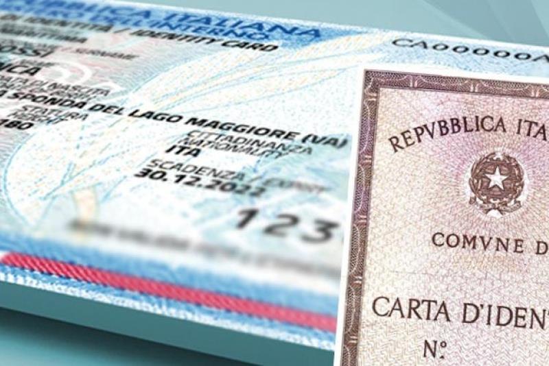 Carte d'identità scadute prorogate al 31 dicembre 2020