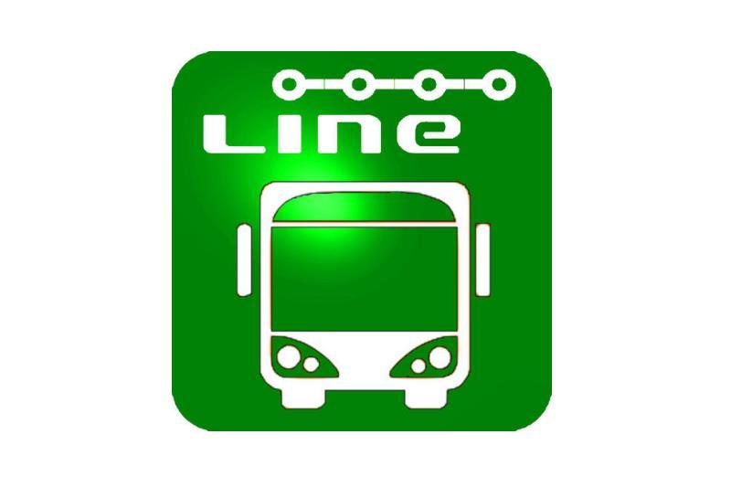 Logo della società Line