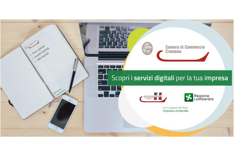 Camera di commercio, webinar gratuito: 'Scopri i servizi digitali per la tua impresa'