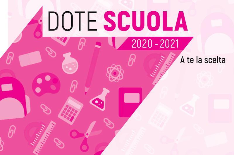 Dote scuola 2020/2021: via al bando per il 'Buono scuola'
