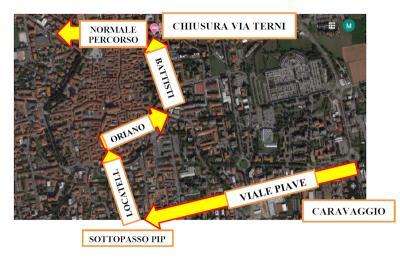 Autoguidovie: linee k505 e k510, deviazione a Treviglio