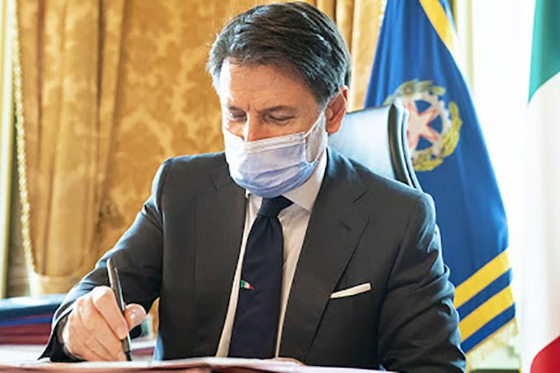 Il Presidente del Consiglio dei ministri Giuseppe Conte