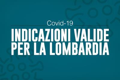 Ordinanza di Regione Lombardia: conferma delle misure locali dopo emanazione del dpcm
