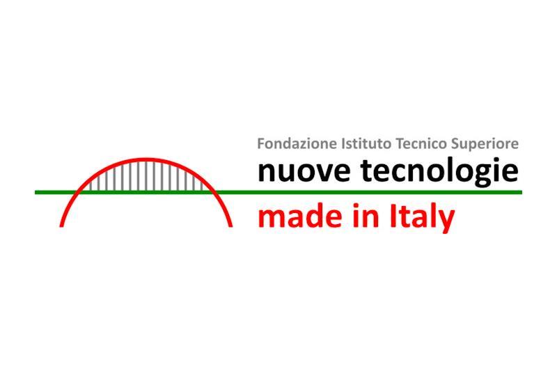Logo di 'Nuove tecnologie made in Italy': un poste stilizzato