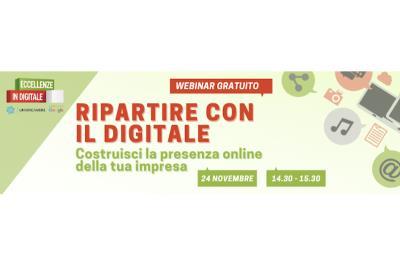Webinar gratuito di lancio della nuova edizione di corsi del progetto 'Eccellenze in Digitale'