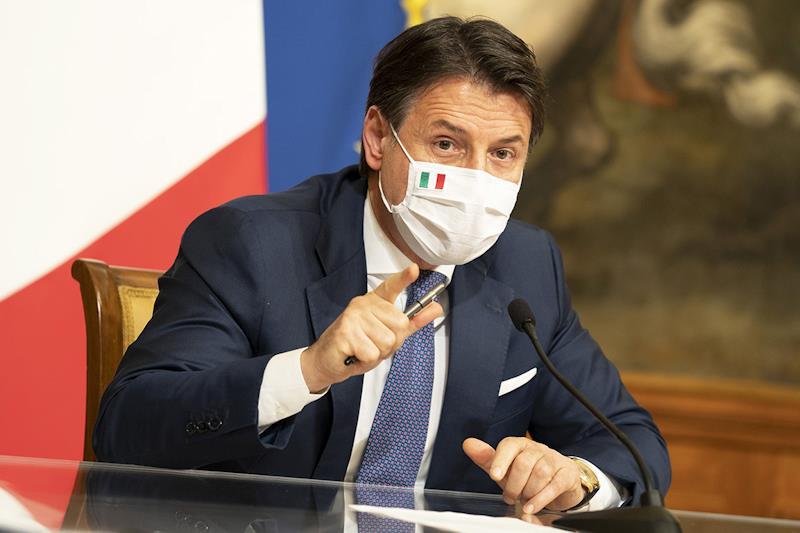 Il presidente del Consiglio dei Ministri Giuseppe Conte (foto Governo Italiano)