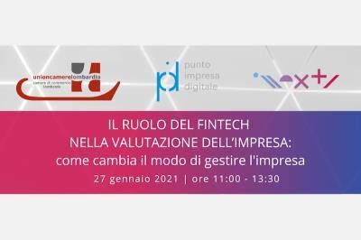 Camera di Commercio. Webinar gratuiti, Progetto 'Lombardia Rilancia': fintech