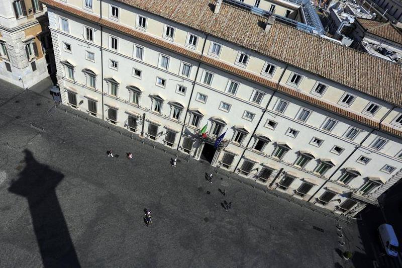 Palazzo Chigi a Roma