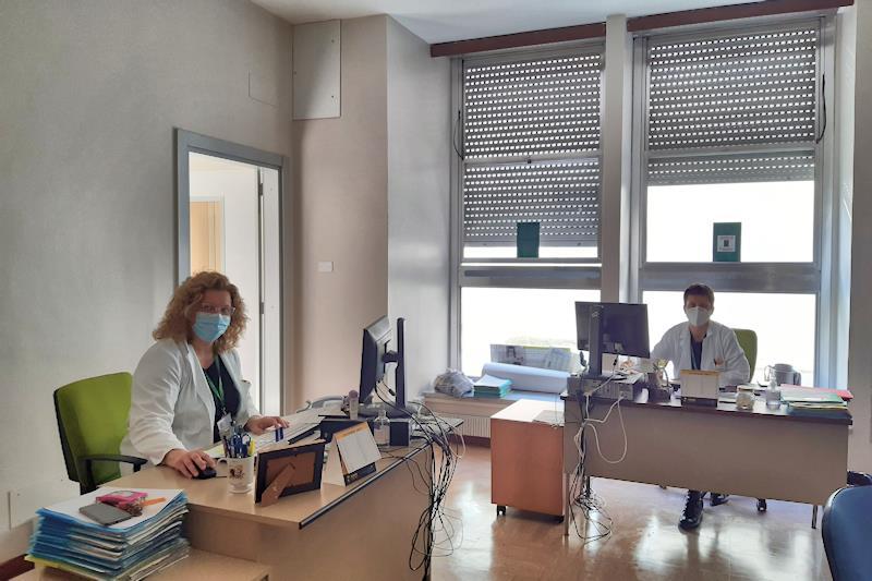Il centro servizi presso l'ospedale di Cremona