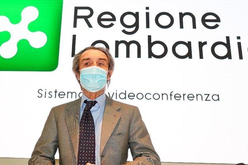 Il presidente Attilio Fontana
