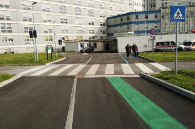 Ospedale di Cremona: percorso vaccinazioni anti-Covid