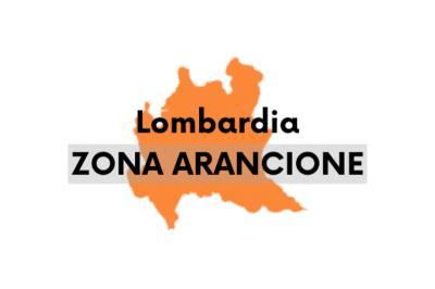 Da lunedì 1° marzo la Lombardia ritorna in zona arancione