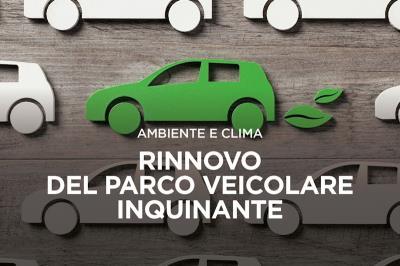 Auto colorata di verde