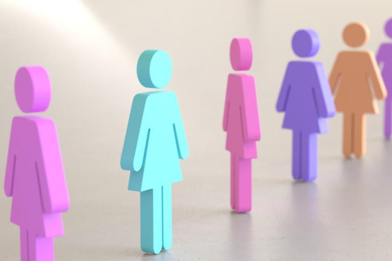 Sagome di forma femminile