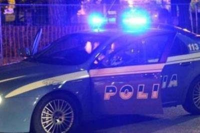 Un pattuglia della Polizia di stato