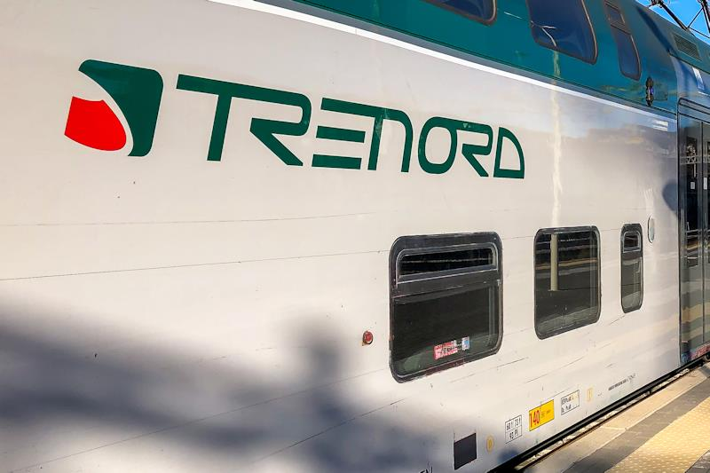 Un convoglio di Trenord